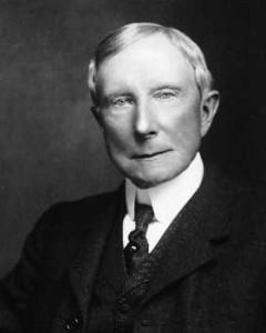 John D. Rockefeller born 1839