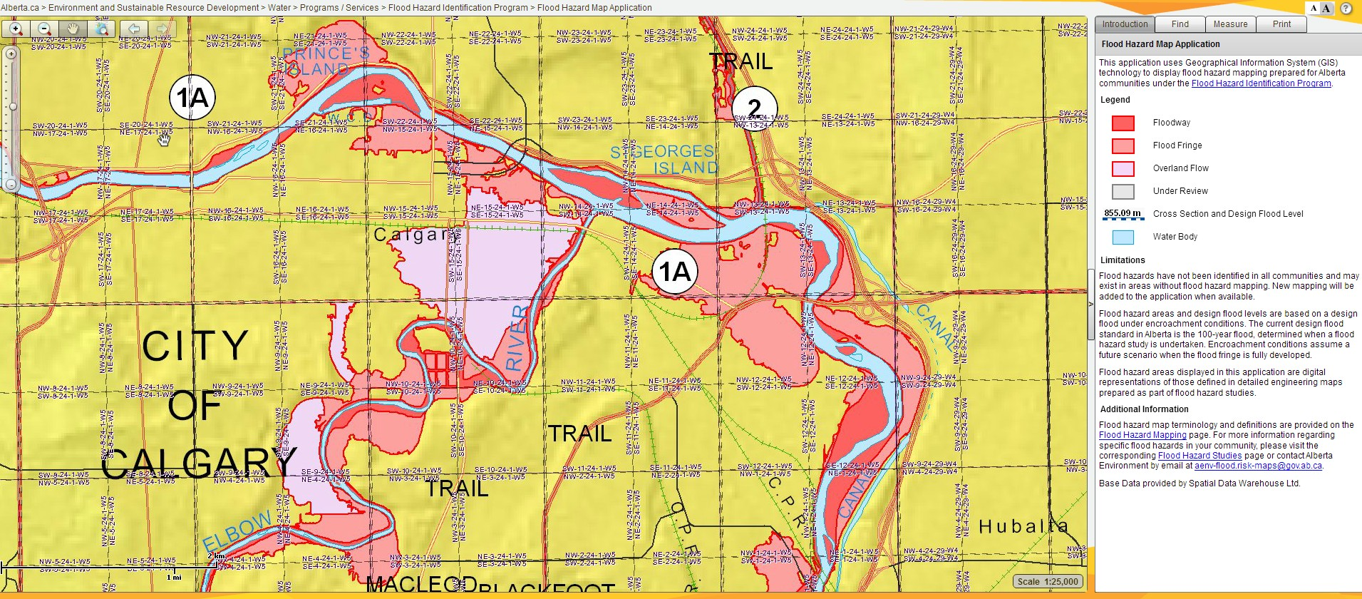 Calgary Flood Map Calgary Flood Map | compressportnederland Calgary Flood Map