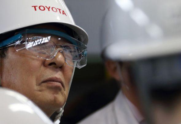 Mitsuru Kawai, senior technical executive of Toyota Motor Corp.