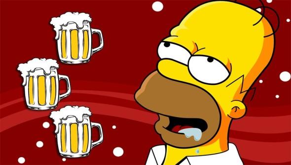 Beer-Homer-SimPSon-PS-Vita-Wallpaper